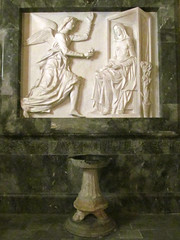 Annunciation (pefkosmad) Tags: vacation sculpture holiday interior relief greece greekislands rhodes annunciation rhodesoldtown dodecanese palaceofthegrandmaster knightsofrhodes rhodes2013
