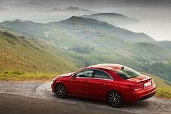 Mercedes CLA 220CDi (Hoellemeister) Tags: red rot rouge mercedes benz rojo daimler 220 cla cdi jaizkibel