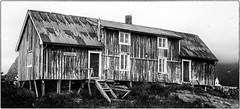 Simonbua (Kvervil) Tags: old sea summer house norway fog canon eos fisherman cabin lofoten hus henningsvr overcasted canoneos5dmarkiii eos5dmarkiii