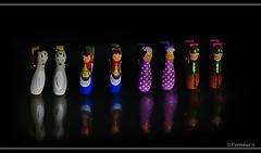 Paper Clips (VERODAR) Tags: reflection toys nikon dolls clips tools paperclips nikond5000 verodar veronicasridar