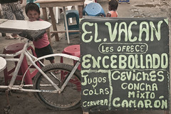 (Cooking the Continent) Tags: travel food beach southamerica photography ecuador documentary roadtrip ceviche foodstalls sudamrica mompiche encebollado 2013 cookingthecontinent wwwcookingthecontinenttv continentcook