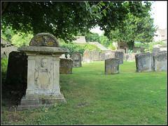 Bibury - St Mary's Church (pefkosmad) Tags: uk england exterior cotswolds gloucestershire graves churchyard stmaryschurch tombs bibury tabletombs