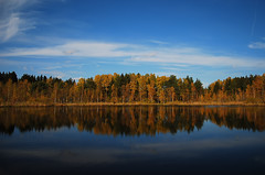 Autumn at the Lake (Osdu) Tags: autumn lake nature season russia moscow zelenograd impressedbeauty