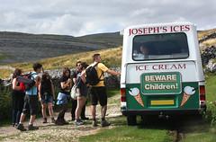 Ice cream Anyone? (eleda 1) Tags: 99 icecream walkers icecreamvan ingleton cornet josephsices bewarechildren