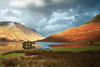 The Lakes (djshoo) Tags: autumn england sky sunlight lake mountains water clouds reflections landscape golden nikon glow colours view lakedistrict cumbria fells keswick crummockwater buttermere sigma1020mm wideanglelens d90 2013 leefilters nikond90 leepolariser