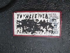 New Toynbee Classic Message Tile 0455 (Brechtbug) Tags: street new york 2001 city nyc november classic by tile dead idea message near manhattan severino midtown made tiles covered planet jupiter kubricks avenue 5th toynbee named verna tar crumbling sevy possibly reclusive resurrect uncovered partially 56th 2013 philadelphian 11162013