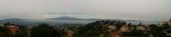 Panoramica con nubes bajas (Las Fotos de Rafa Yanes) Tags: naturaleza mountain nature natura montaa niebla lloretdemar boira
