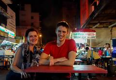 Bangkok Night in China Town-16 (Ola Pemberton) Tags: thailand honeymoon bangkok joe ola 2013 olajoe
