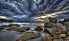 Sardinia (R.o.b.e.r.t.o.) Tags: sardegna sunset sea tramonto mare lightning isola lamaddalena fulmine hdr1raw