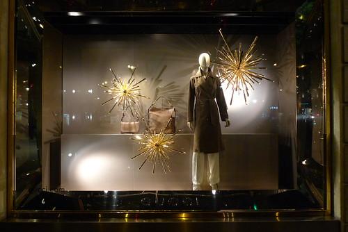Vitrine Gucci - Paris, novembre 2013
