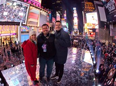 New Year's Eve in Times Square New York City working with NBC (Anthony Quintano) Tags: nyc nbc nye timessquare newyearseve 2012 carsondaly tsq 2013 angelakinsey nye2013