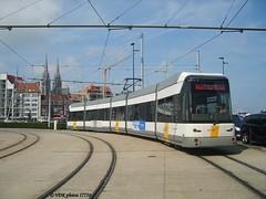 7236-177500 (VDKphotos) Tags: belgium siemens tram oostende sgp vlaanderen vvm hermelijn mgt6 vvm5 typeantw2