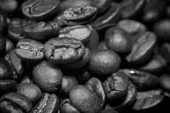stimulators (HJK Photography) Tags: blackandwhite bw white black macro coffee monochrome mono beans caffeine roasted stimulation