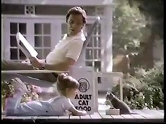 VINTAGE 80'S KITTEN CHOW COMMERCIAL W JUDITH BARSI_00001