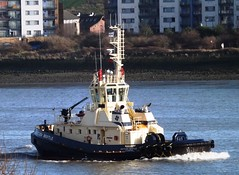 Svitzer Bootle (1) @ Gallions Reach 07-01-14 (AJBC_1) Tags: uk england london boat ship unitedkingdom vessel tugboat tug riverthames eastlondon gallionsreach northwoolwich newham svitzer ajc dlrblog ajc