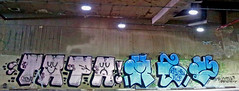 Make way for the positive day (* FUK VIC *) Tags: graffiti centro attack tapa bomb leste zona mev 2014