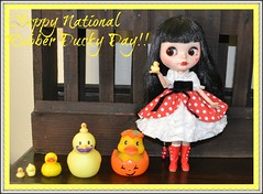 Happy National Rubber Ducky Day and Mustache Monday!!!