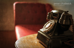 Phone 50 (PeterChad) Tags: mood phone dial 1950s bakelite exchange textured gpo chaiselonguechaiselounge