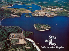 Bay Lake and the Seven Seas Lagoon 1972 (Tom Simpson) Tags: lake vintage disney disneyworld 70s 1970s 1972 baylake sevenseaslagoon vintagedisney