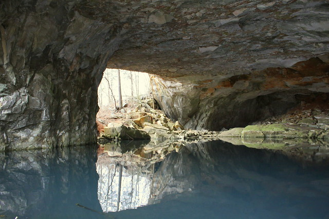 Limestone Quarry Cave & Lake #3 - Erin, TN