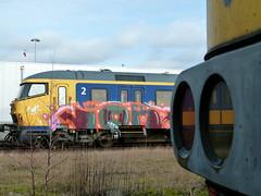 Arnhem Goederen (7) (sb1rd) Tags: graffiti ns arnhem planv abandonedtrains arnhemgoederen