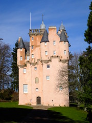 Craigievar castle. (Calinyx ~ thanks for looking and for any comments.) Tags: blue winter castle scotland skies aberdeenshire