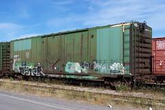 QGRY 80757 B Ottawa, Ontario 08212007 ©Ian A. McCord (ocrr4204) Tags: ontario canada train wagon kodak ottawa traincar pointandshoot mccord ocr walkley z740 freightcar ocrr ottawacentralrailway walkleyyard ianmccord ianamccord
