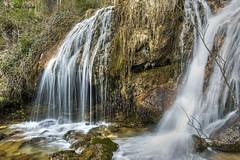 Doble cascada (Pepe Palao) Tags: espaa paisajes naturaleza agua fotos imgenes albacete turismorural castillalamancha riopar charcas nacimientoromundo blinkagain jopachi pepepalao infinitexposure