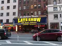 Ed Sullivan Theater - Late Show with David Letterman (YouTuber) Tags: nyc newyorkcity manhattan lateshowwithdavidletterman edsullivantheater