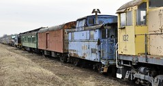 Minerva, Ohio (Bob McGilvray Jr.) Tags: railroad yard train coach tracks engine diner caboose locomotive rollingstock passengercar minervaohio ohirail