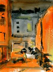 paris france watercolor aquarelle peinture frédéricglorieux