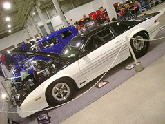 1984 Chevy Camaro Z28 (splattergraphics) Tags: camaro chevy 1984 carshow blown z28 customcar tubbed prostreet oakspa greaterphiladelphiaexpocenter northeastrodcustomcarshow