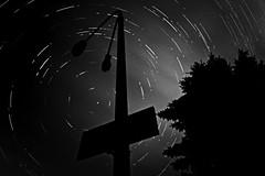 Sky Traffic (madbeardo) Tags: light stars star trails lithuania tails startrails alytus 2013 alpskid
