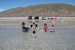 Hanging out in the water (Aggiewelshes) Tags: beach june victor idaho vivian bearlake jovie 2015 jalila northbeachrentals
