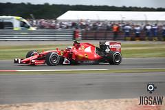 Kimi at the British GP 2015 (Jigsaw-Photography-UK) Tags: red car race kimi f1 ferrari silverstone formulaone gp 2015