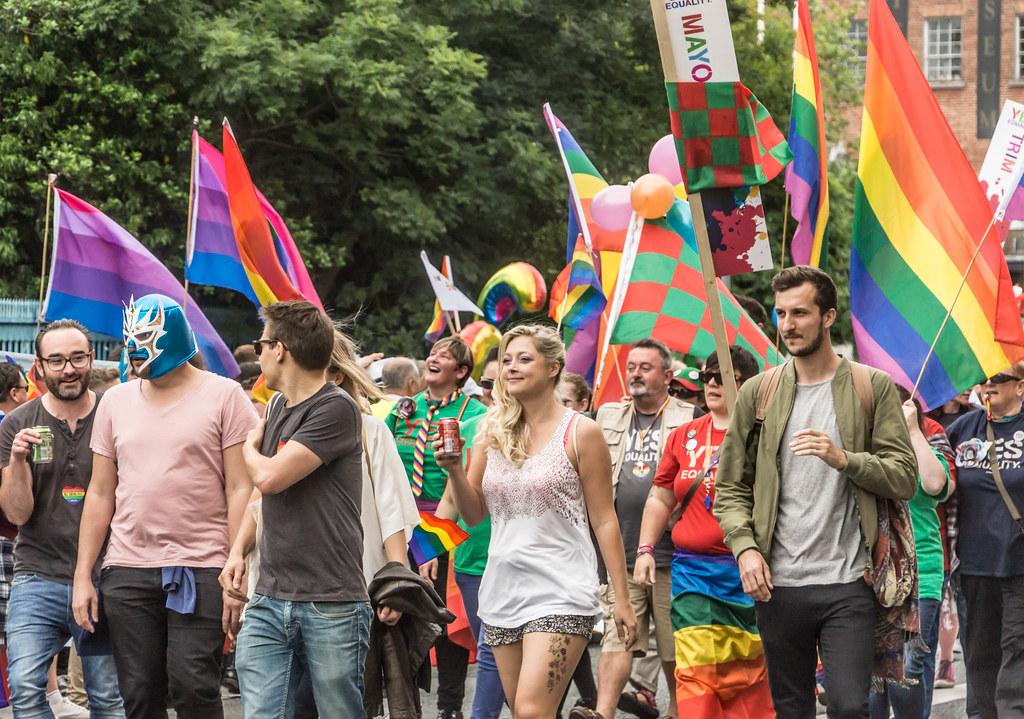DUBLIN 2015 LGBTQ PRIDE PARADE [WERE YOU THERE] REF-105971