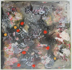 """""""Muddy Waters 11"""" by Daniel Kerkhoff, 2015 (Daniel Kerkhoff) Tags: ink painting artist acrylic quiet daniel vietnam ugly waters hanoi muddy the kerkhoff"""