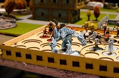 "CaptainCon 2015 (Kristin ""Shoe"" Shoemaker) Tags: painting miniatures gaming rpg convention tabletop wargames captaincon"