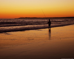 Atardecer   Conil de la Frontera   Cdiz (Juan Blanco Photography) Tags: espaa atardecer mar andaluca playa es cdiz pescador conildelafrontera playadelafontanilla