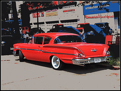 Delray (novice09) Tags: chevrolet sedan chevy carshow delray 2015 backtothefifties ipiccy