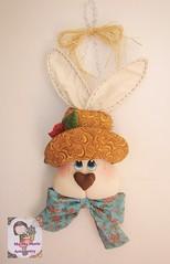 OrelHuDo.... (Ma Ma Marie Artcountry) Tags: coelho coelhodetecido páscoadecoração easterdecoration bunny easterbunny