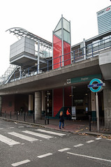 Poplar DLR Station (D_Alexander) Tags: uk england london eastlondon poplardlrstation dlr docklandslightrailway