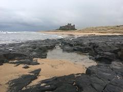 Bamburgh Beach (Robin Mulligan) Tags: bamburghcastle sand landscape scenic iphone iphoneography