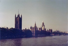 Palace of Westminster (sftrajan) Tags: england london thames river parliament 1983 palaceofwestminster