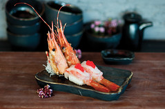 (toey) Tags: food bangkok sashimi shushi highhat