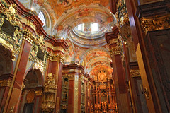 Melk Abby (ddk4runner) Tags: church gold austria golden catholic interior abby monk melk decorated monestary guilded