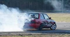 JLP_2926 (Innervision Team) Tags: summer sun car sport race speed fun track angle smoke latvia drift