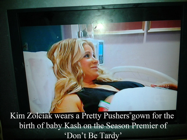 Kim Zolciak Wearing Our Gown!