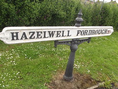 Hazelwell Fordrough - Stirchley - road sign (ell brown) Tags: greatbritain england sign birmingham unitedkingdom roadsign westmidlands birminghamuk stirchley hazelwellfordrough hazelwell