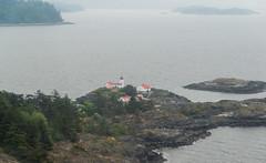 20130511D8E_5280 (cisco42) Tags: sea cliff lighthouse canada britishcolumbia shoreline northamerica saltwater canadiancoastguard lightstation secheltpeninsula vancouvercoast merryislandlightstation